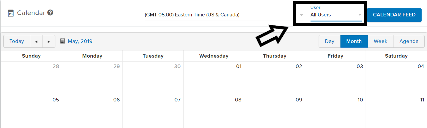 Calendar- Setting an Appointment - Realeflow Support